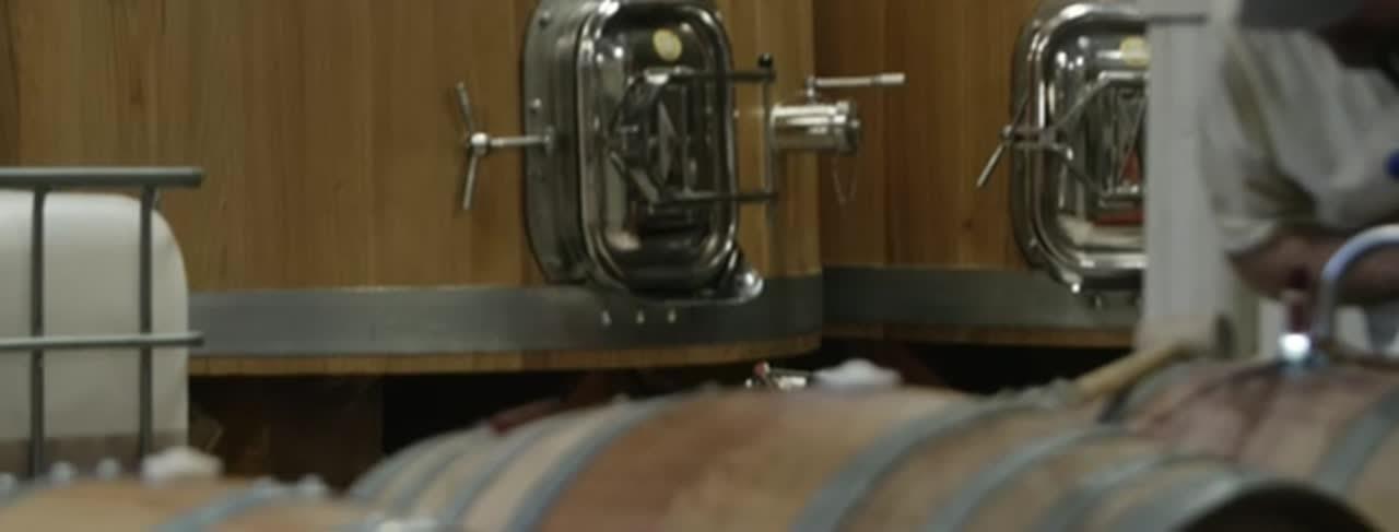 Winemaking-barrel Website Header Video