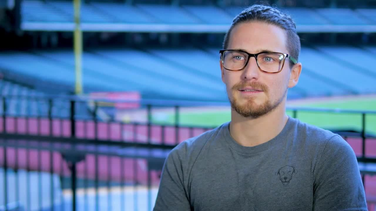 Alex Bierens de Haan of the Houston Astros