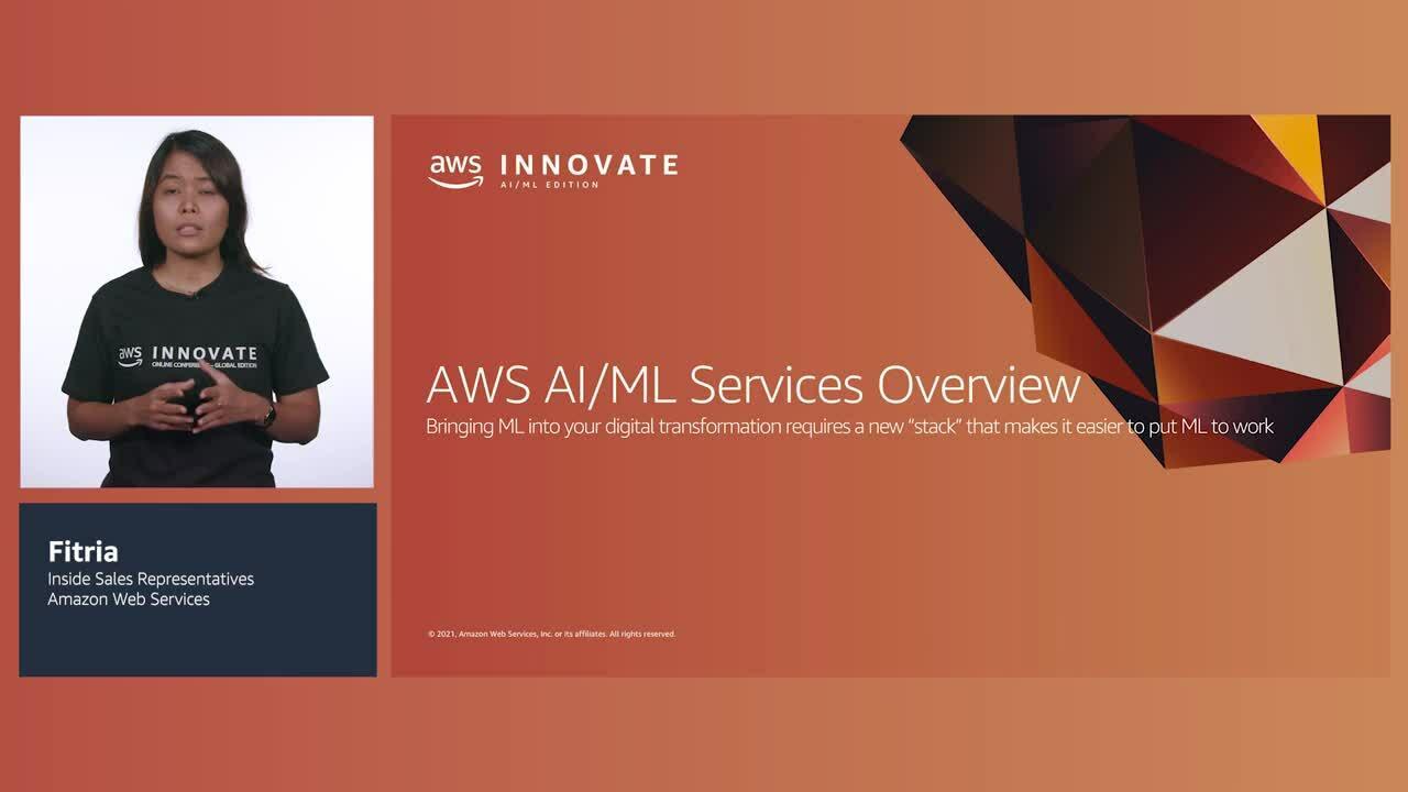 Memulai AIML dengan AWS untuk Startup (Tingkat 100)