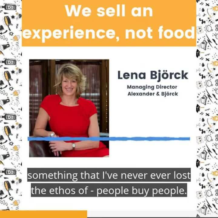Lena Bjorck - We sell experiences (Made by Headliner)
