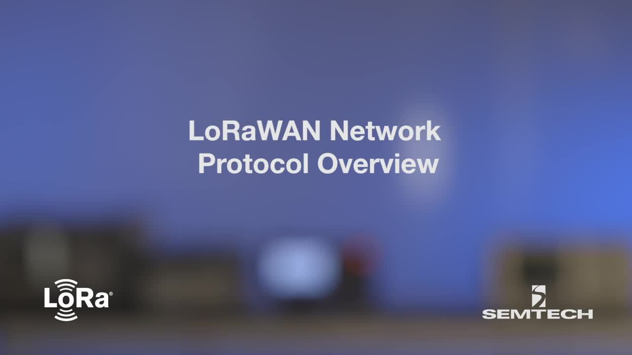 LoRaWAN Network Protocol Overview