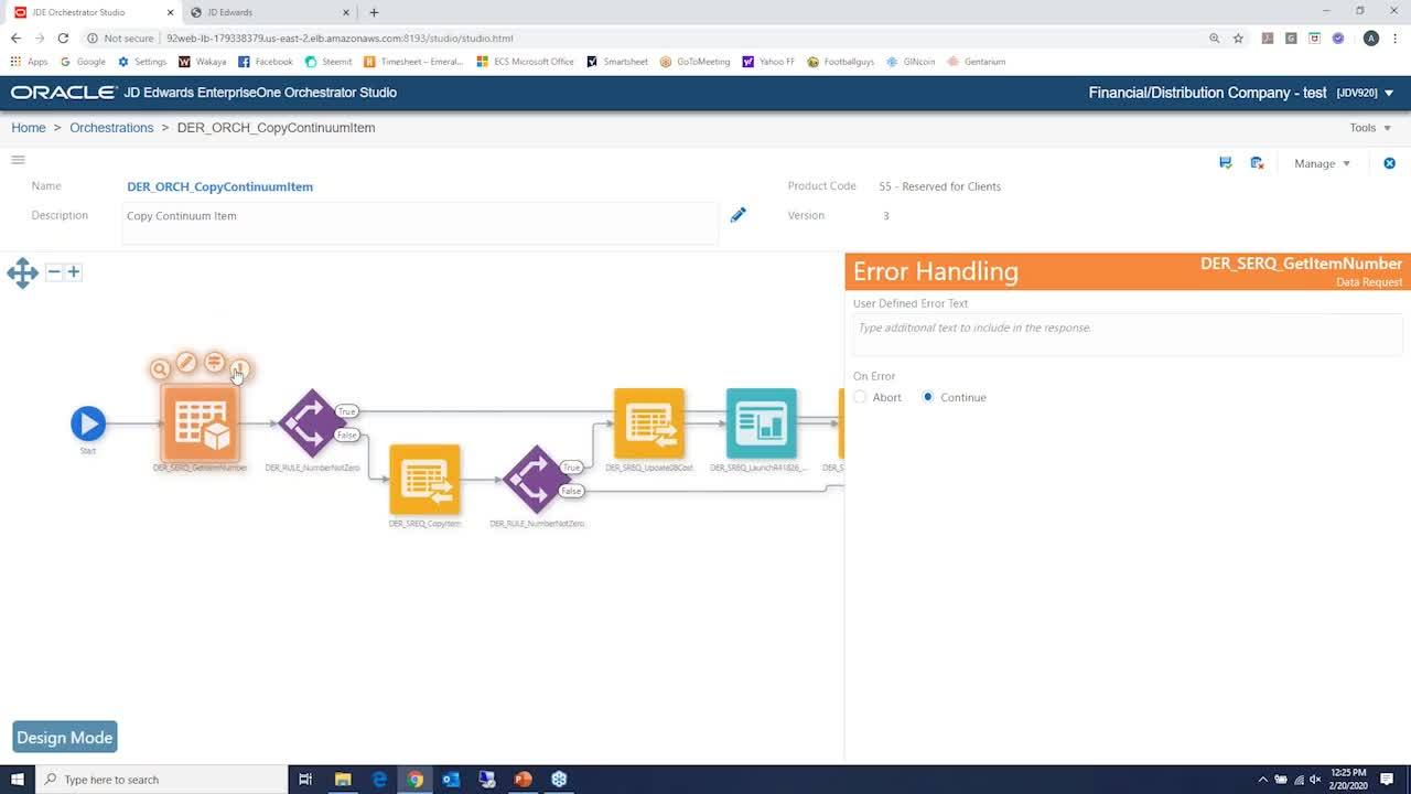 New and Improved Orchestrator Features in JDE E1 Tools 9.2.4