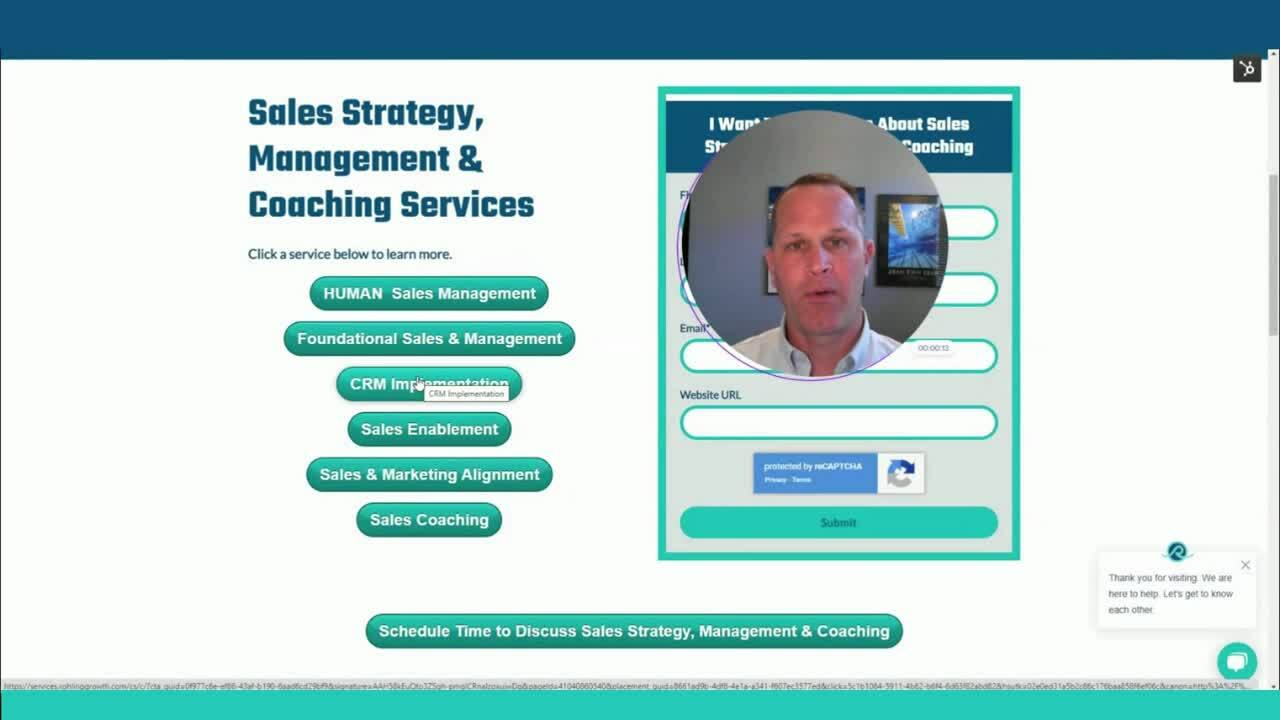 Sales Strategy & Management Services Intro