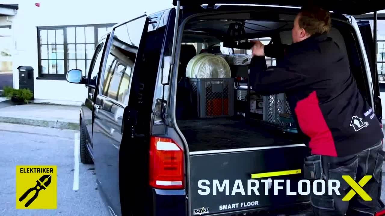Smartfloor X Sverige elektriker