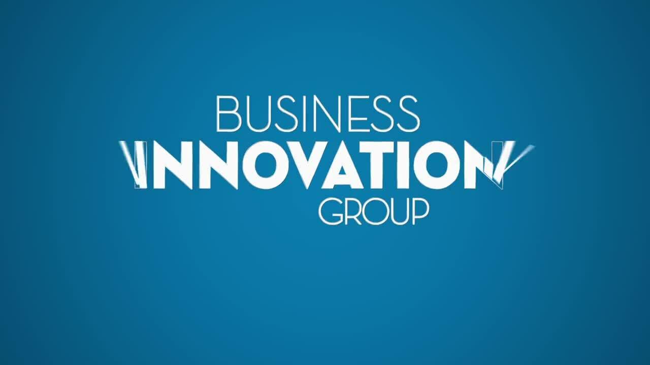 Optimizely - Business innovation group animated logo