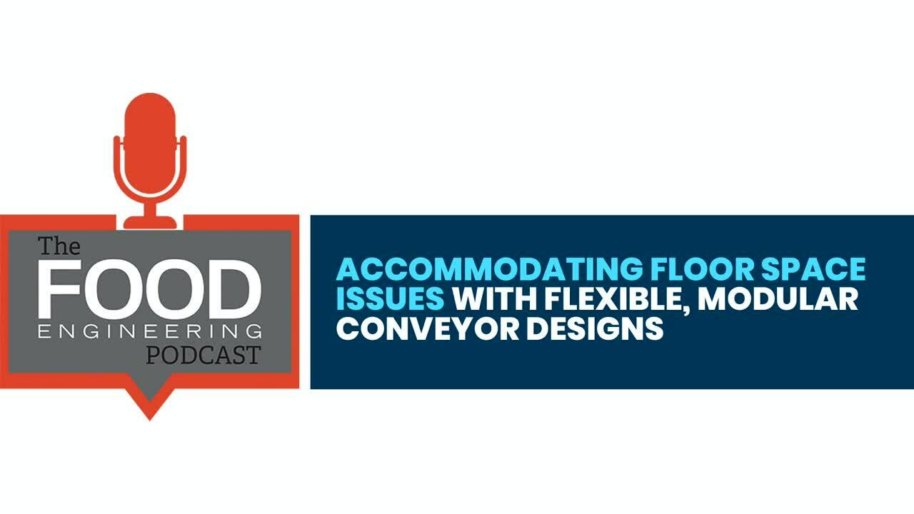 Accommodating Floor Space Issues with Flexible, Modular Conveyor Designs