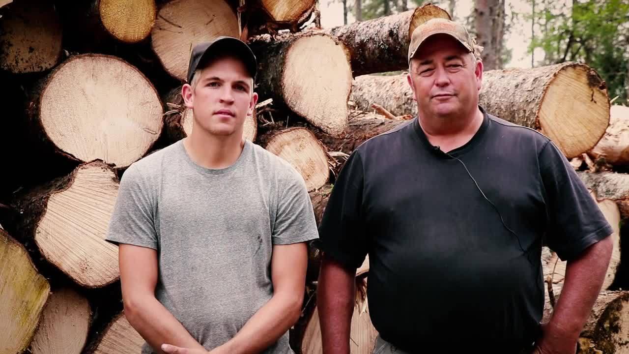 Blaney Logging Pick Up Skid Testimonial-1
