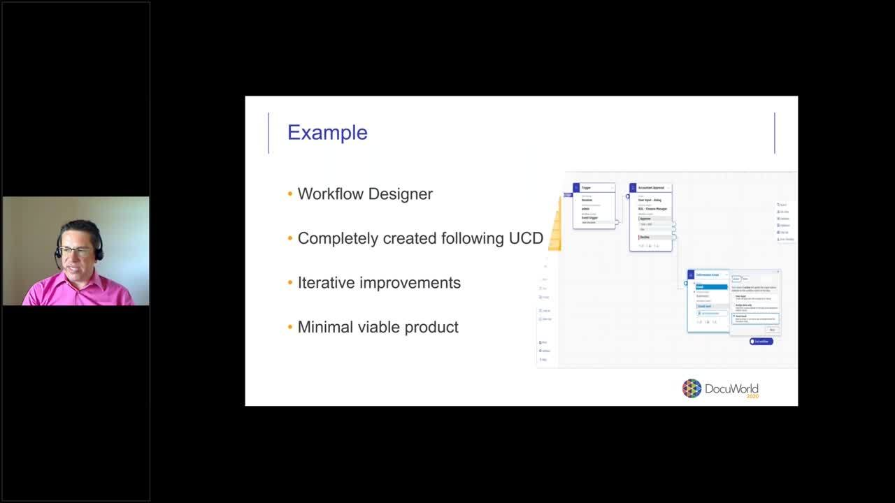 DocuWorld 2020 - EMEA_DocuWare Version 7.3_number blur