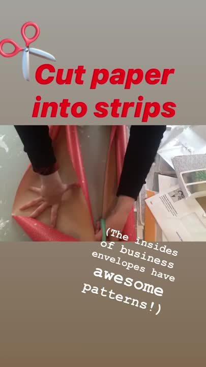 SA paper weaving