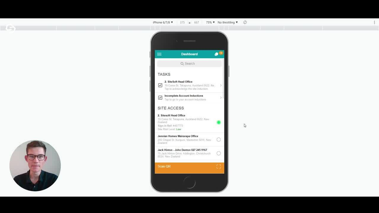How to use the SiteConnect Mobile App-1