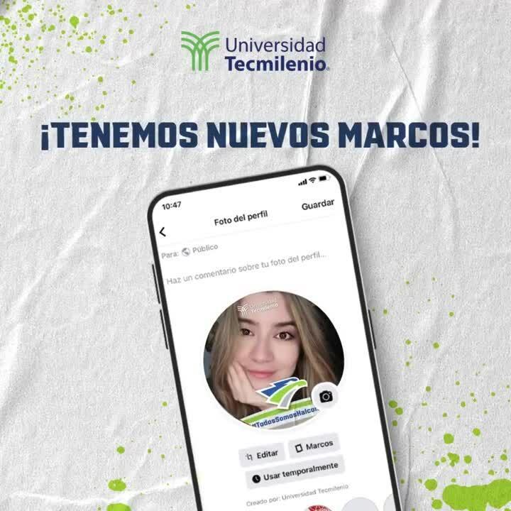 Marco del Halcón Tecmilenio para redes sociales