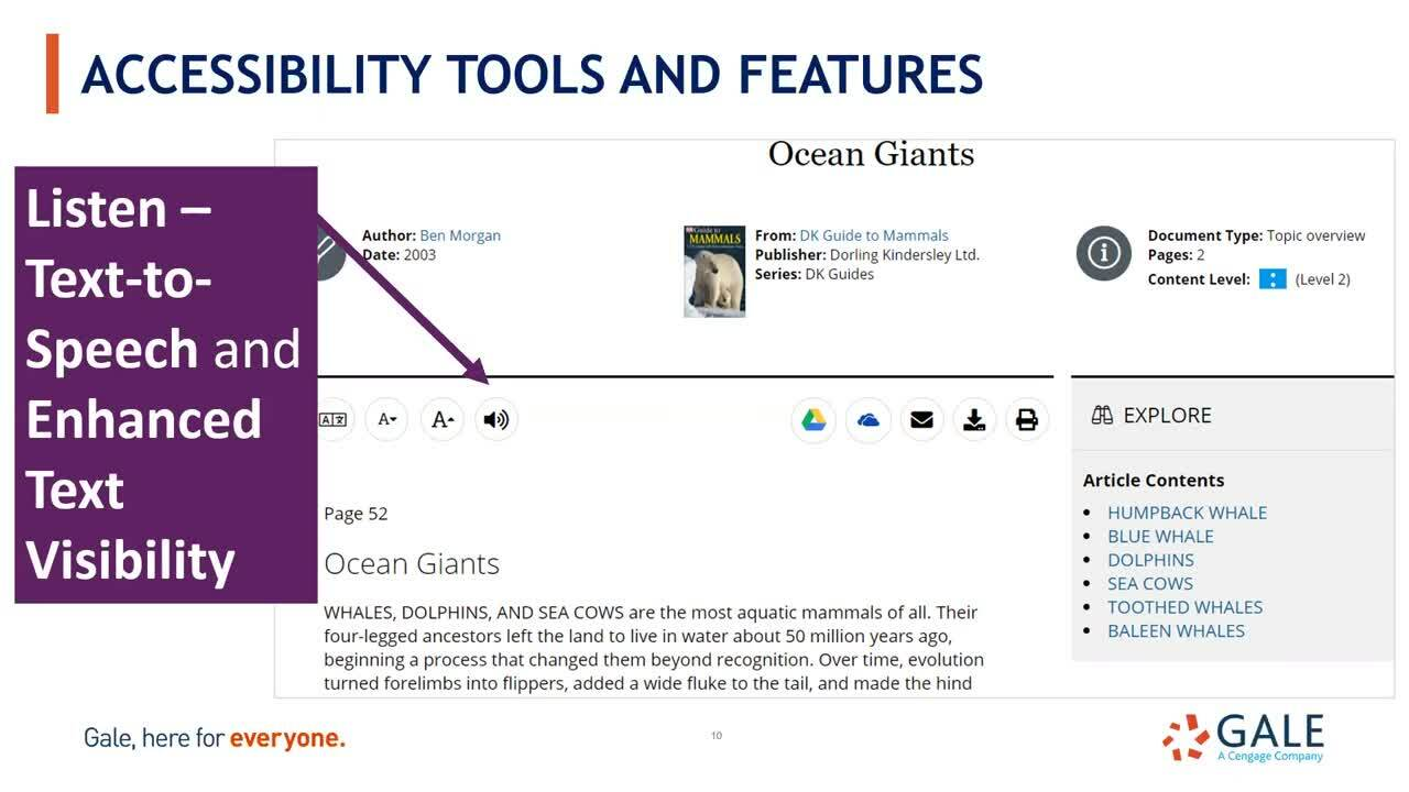 Reach More Users with Gale Accessibility Tools Thumbnail