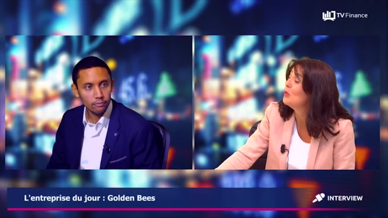 Interview Jonathan Bordereau Golden Bees TV FINANCE