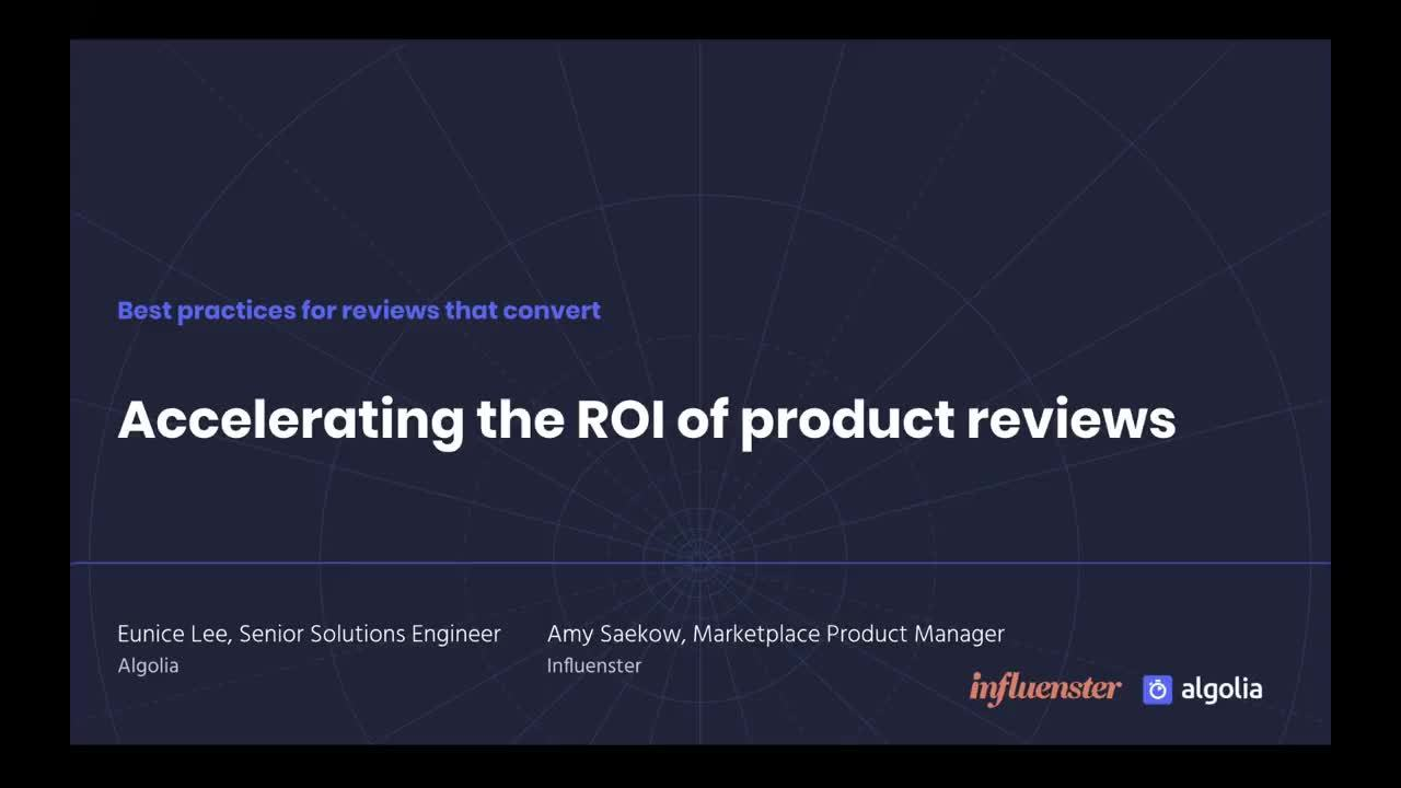 illustration for: 'Accelerating the ROI of product reviews'""
