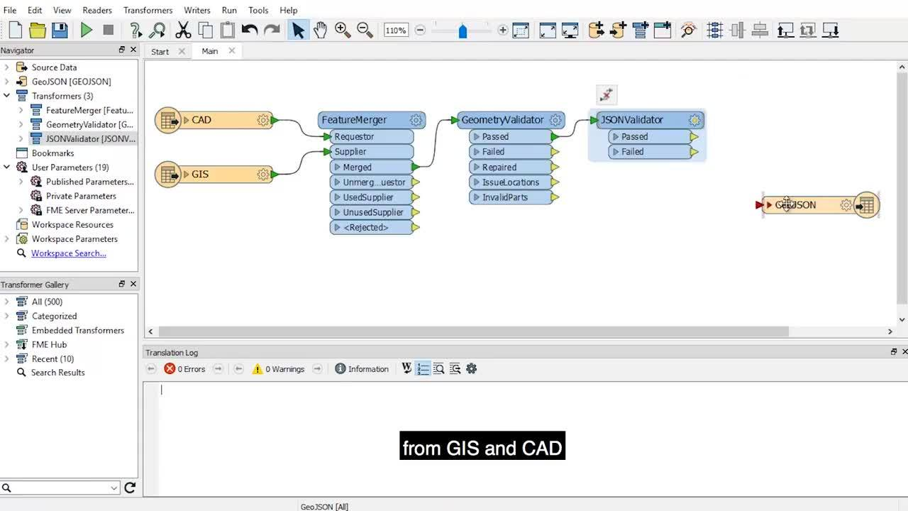 Building Indoor Mapping at YVR with FME