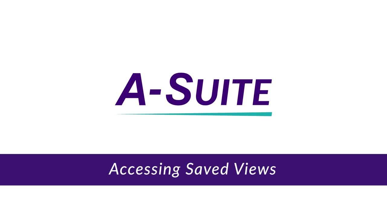 3.1.3_Accessing Saved Views