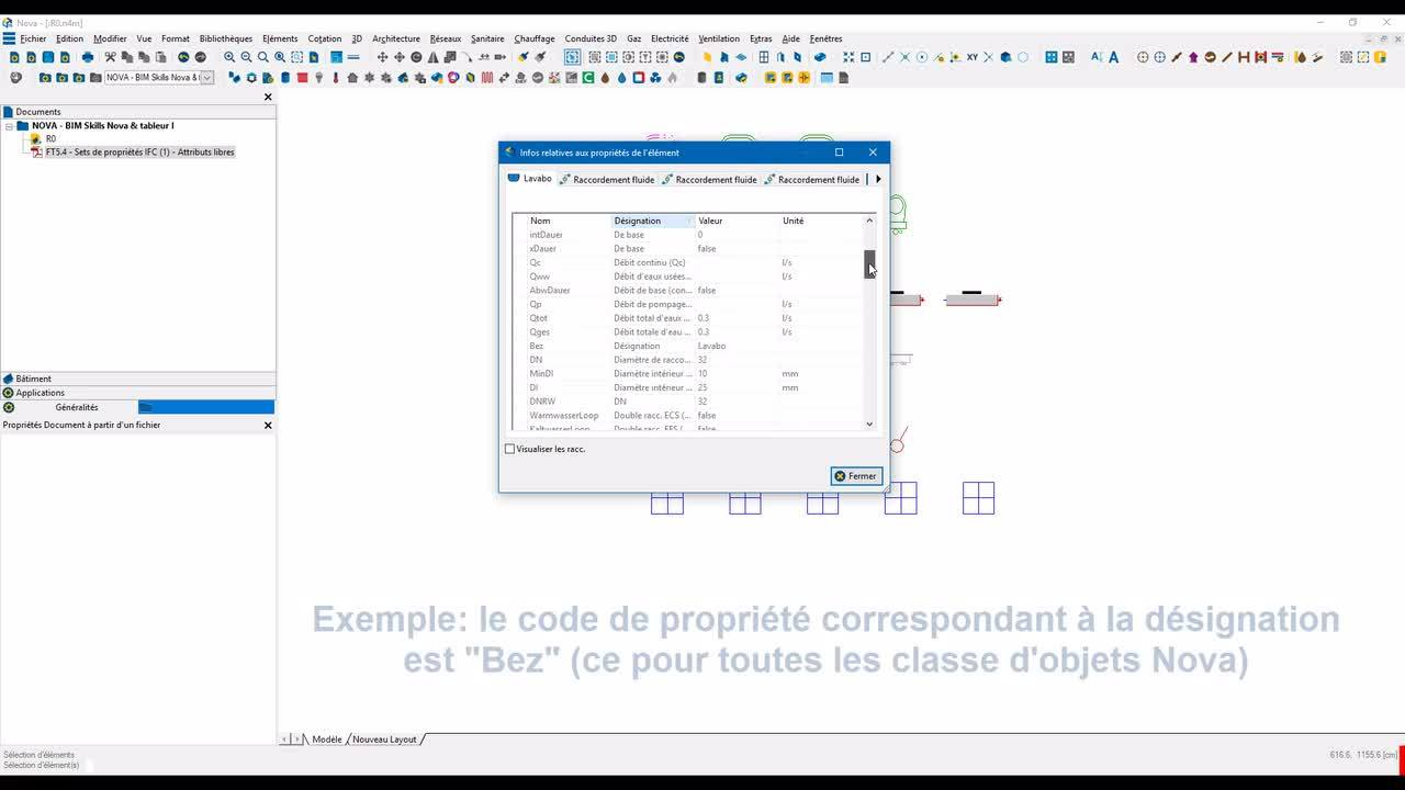 Novatip 39 - Nomenclatures via attributs libre et tableurs - Partie I