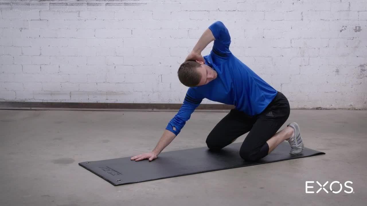 Thoracic Rotation - Heel Sit
