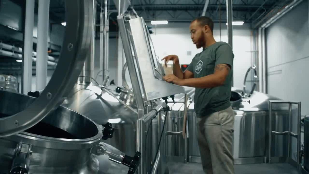 Paul Mueller Companys Brew Kettle Automation Panel