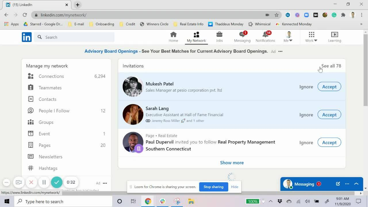 How to View Pending Invitations on LinkedIn