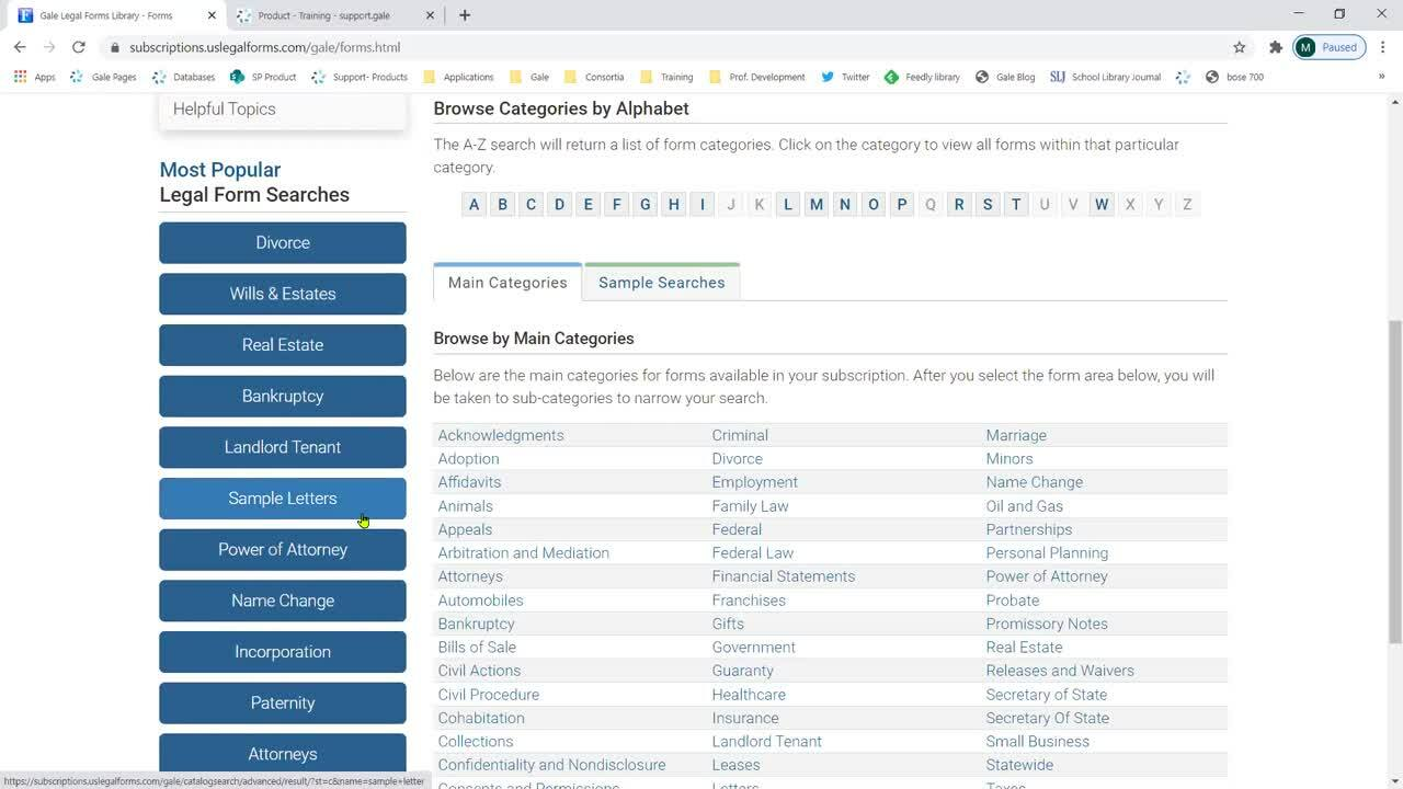 TexShare: Leveraging Gale LegalForms to Support Patrons' Changing Needs Thumbnail