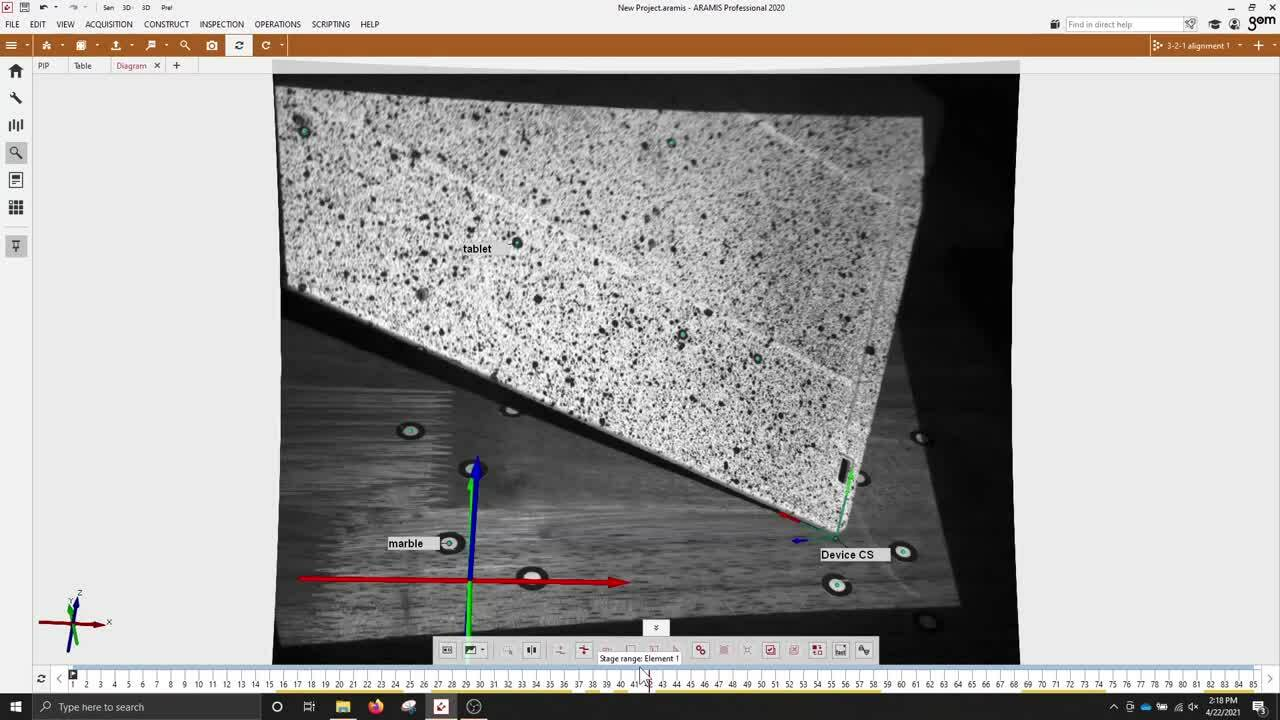 360 point cloud tracking