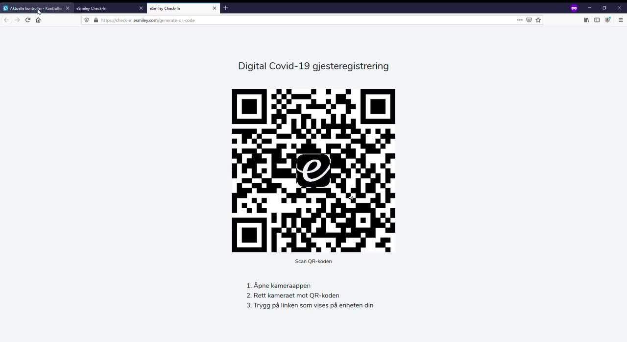 Aktuelle kontroller - Kontroller _ eSmiley - Mozilla Firefox (Privat nettlesing) 29_09_2020 11.50.59