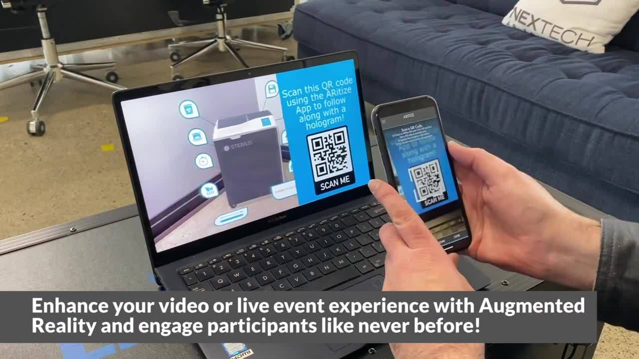 Enhance your video or live event with Augmented Reality
