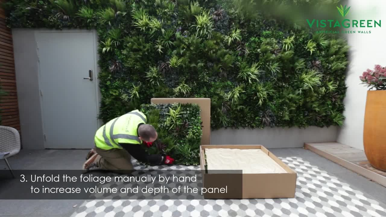 VistaGreen-Artificial-Green-Wall-Panel-Installation