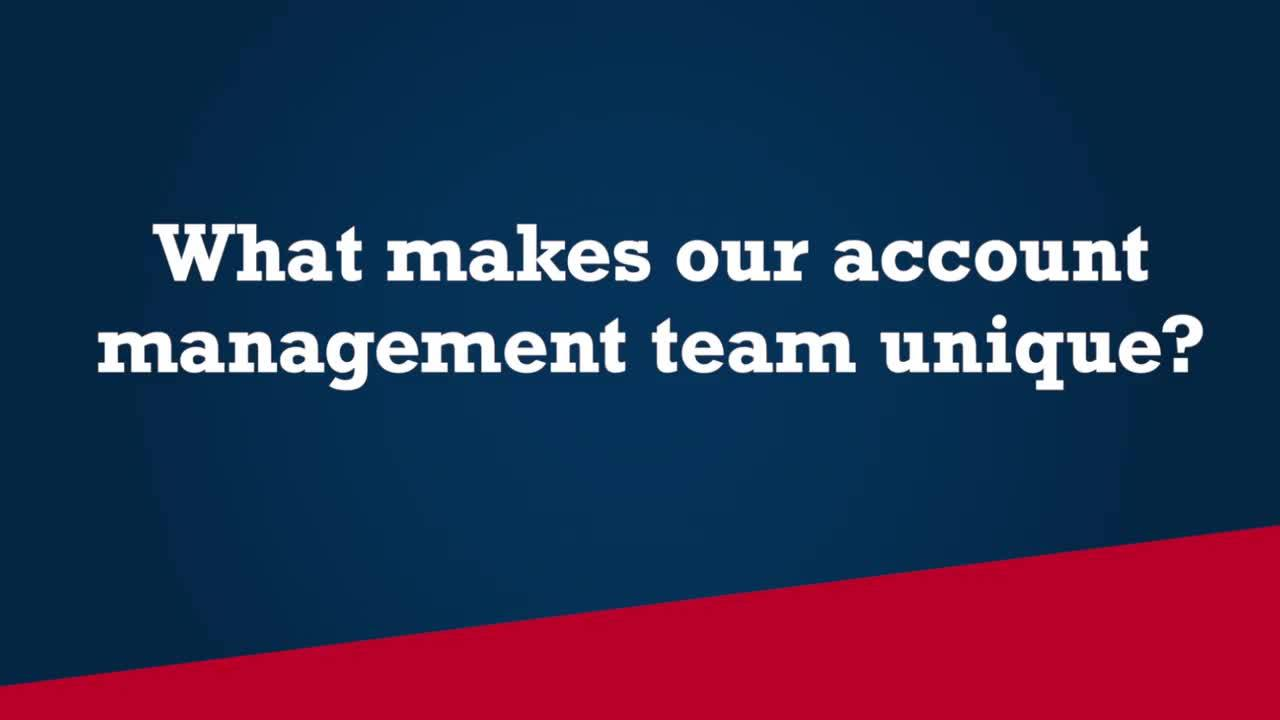 Meet our Specialty Equipment Account Managers