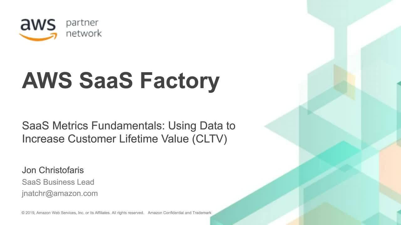 SaaS Metrics Fundamentals - ISV