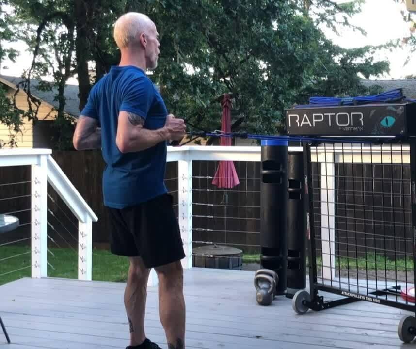 Raptor Blog Squat Row Combo