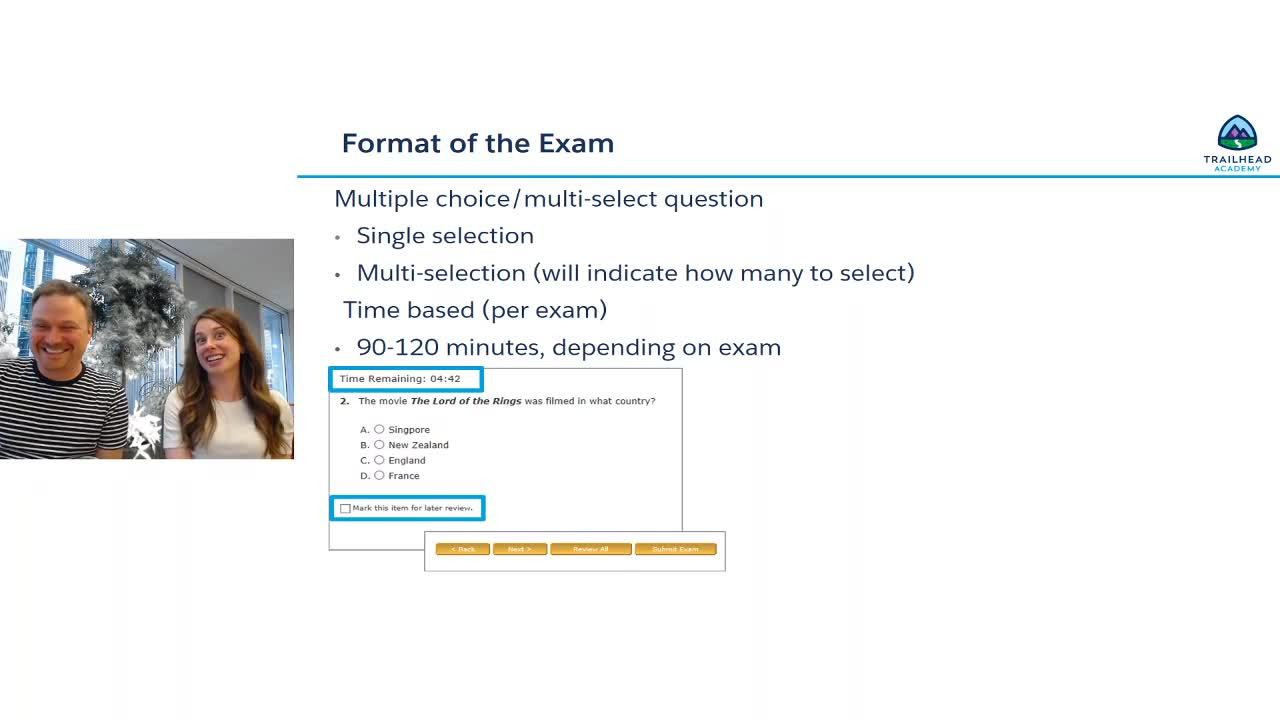 Video: Admin Certification Prep and Exam Day Tips