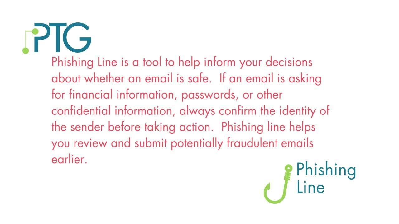 What is phishing line_