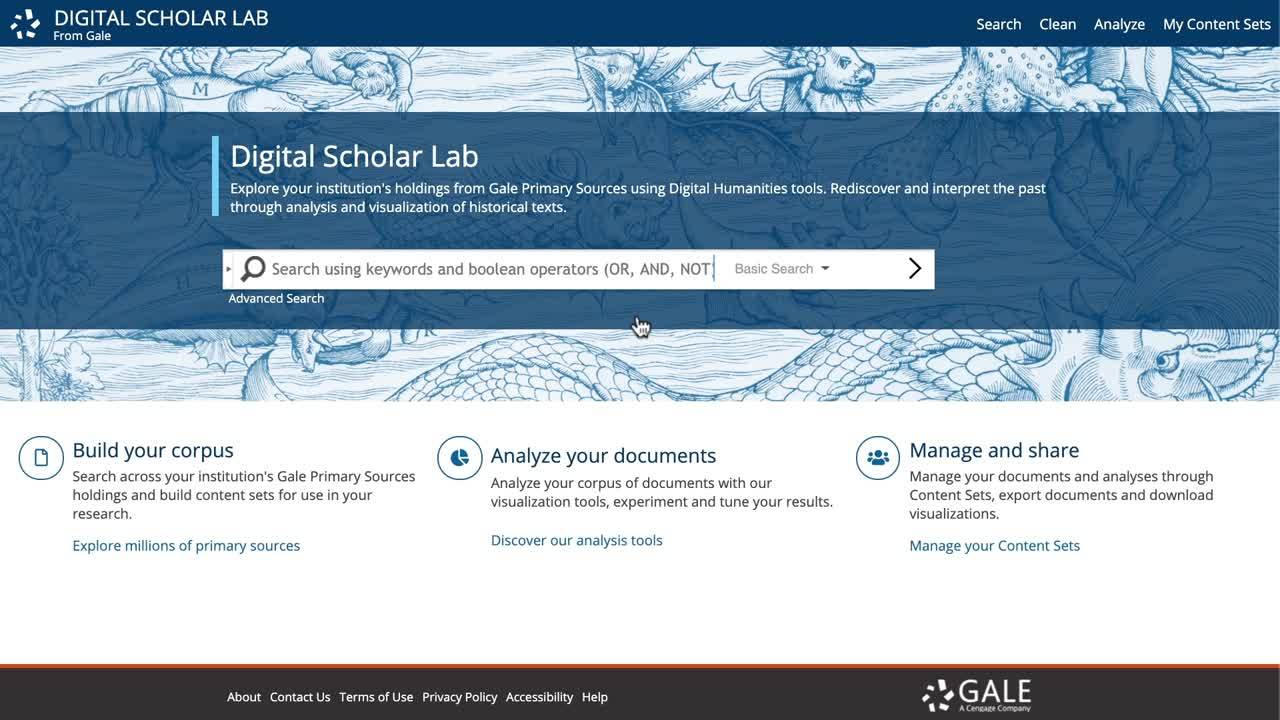 Gale Digital Scholar Lab - Search Strategies Thumbnail