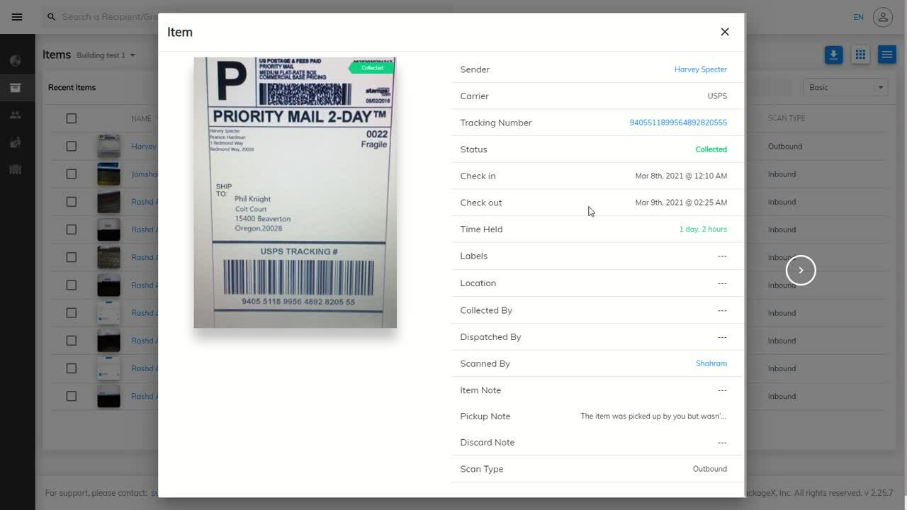 How to view item details