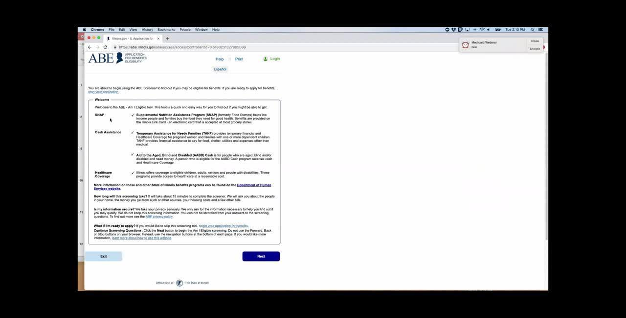 Medicaid Webinar- 4-16-19