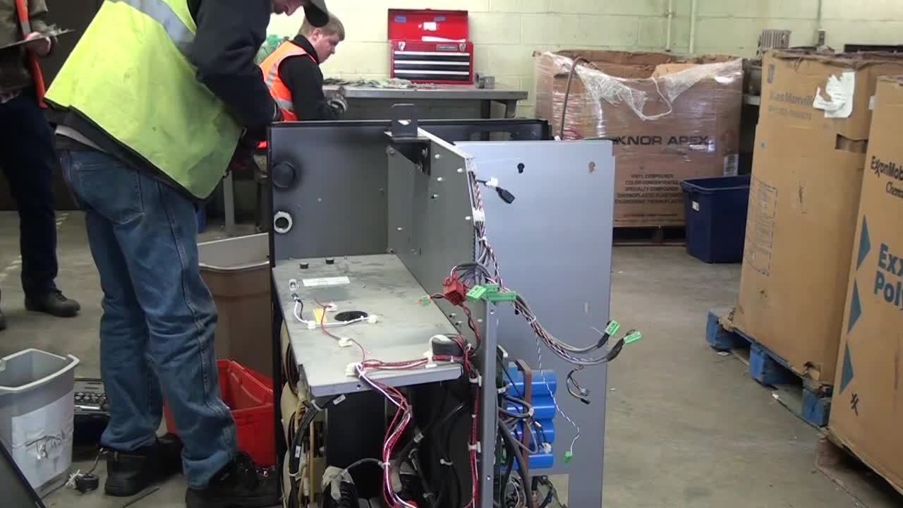 MAXPRO - Coolant tank, IGBT, back box