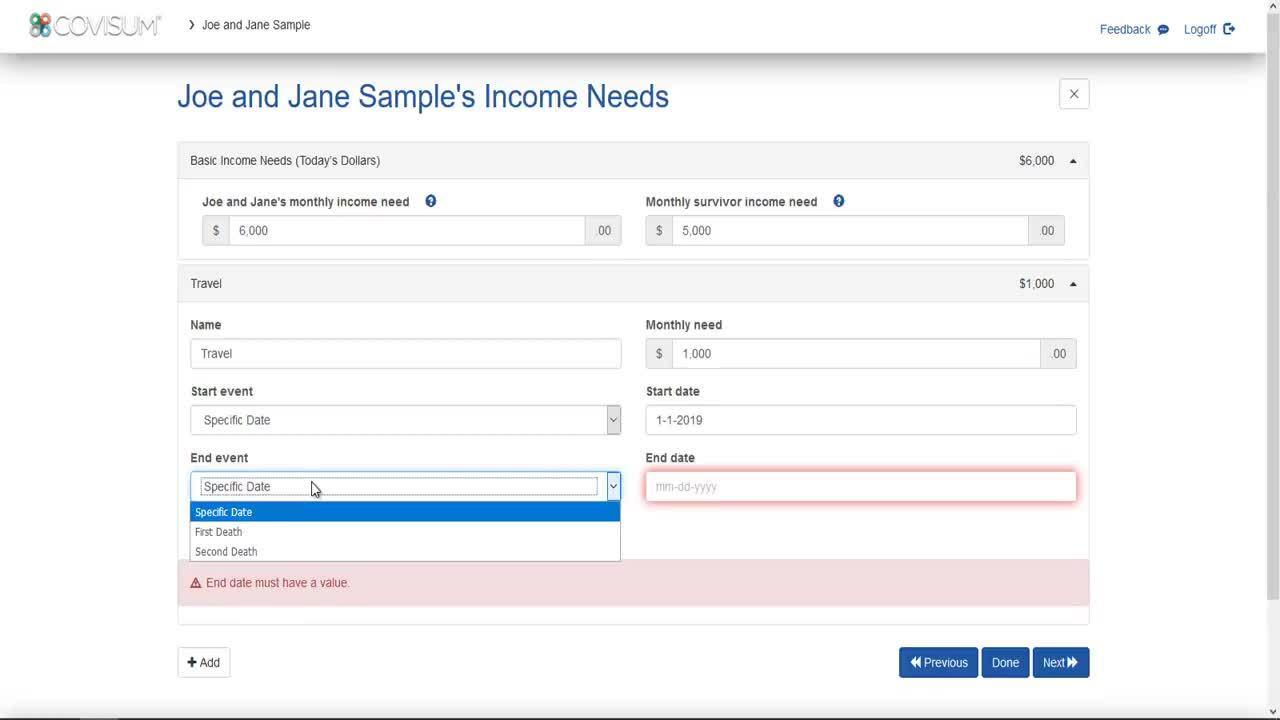 Income Insight - Entering Needs - V2