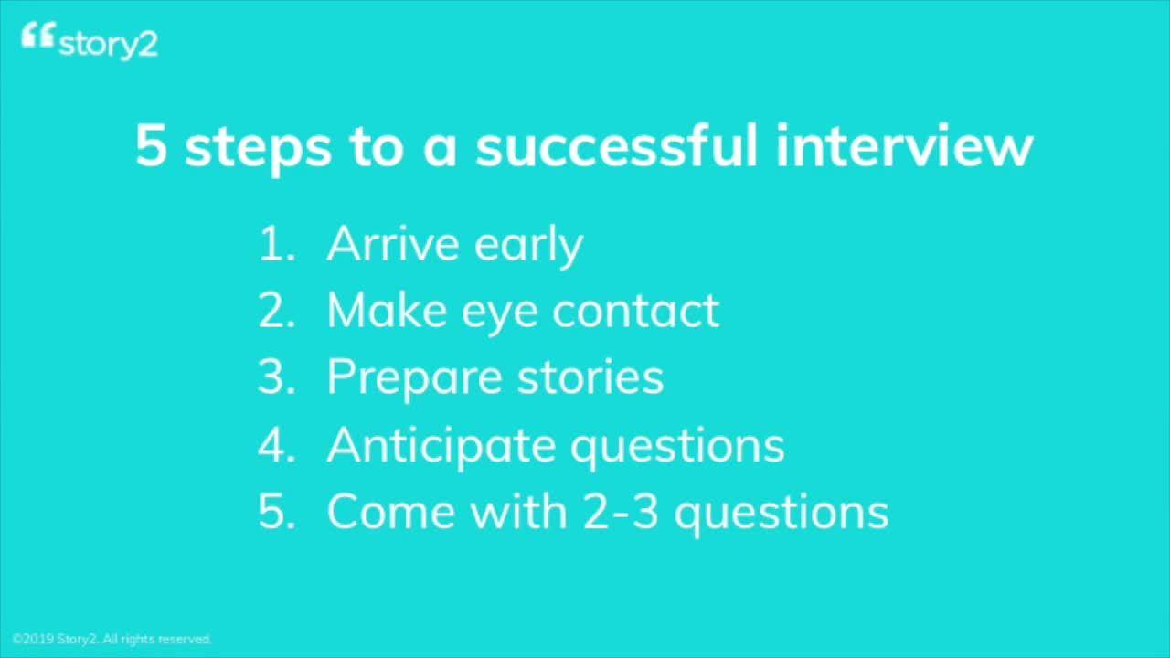 Interest & Interviews