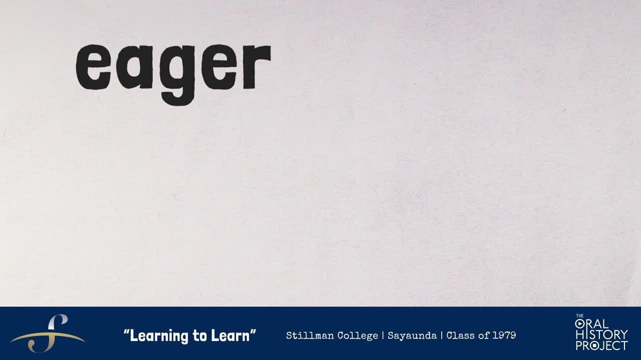 Stillman Learning to Learn