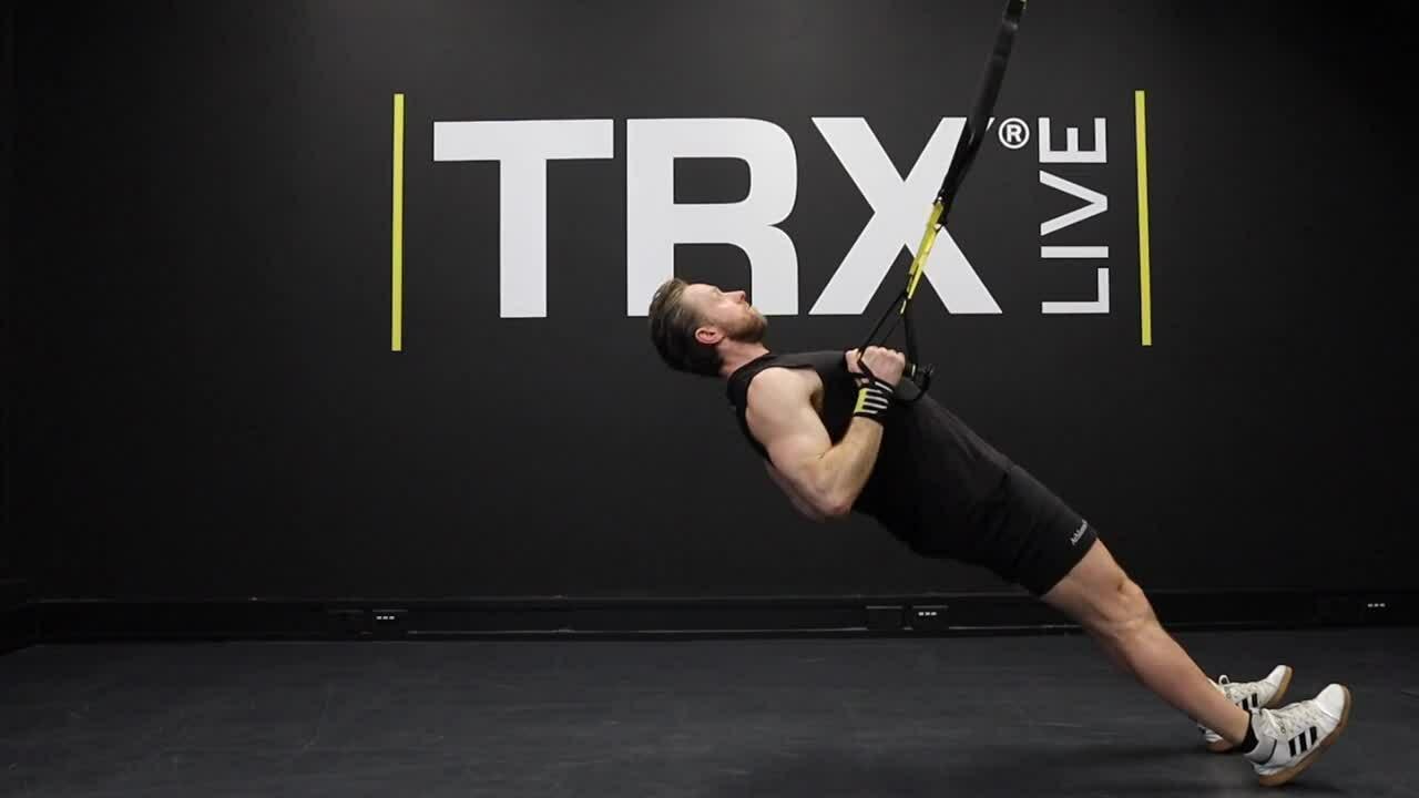 TRX LOW ROW