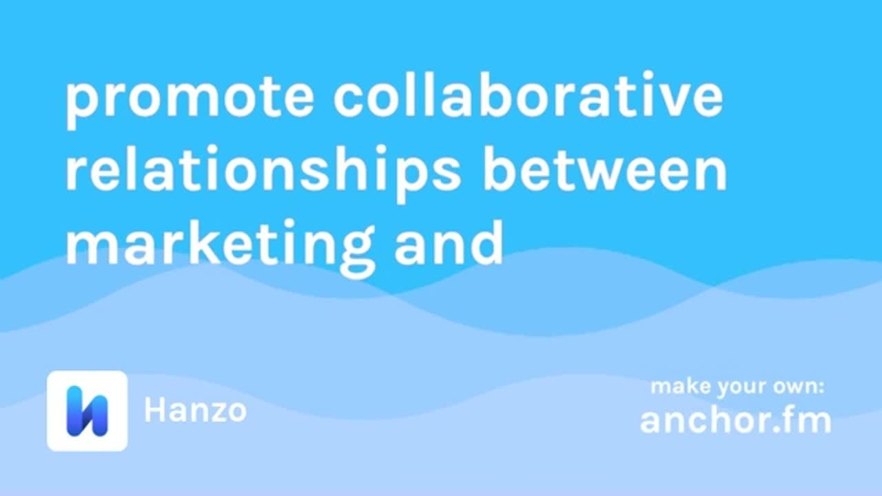 Compliance and Marketing Collaborative Relationships