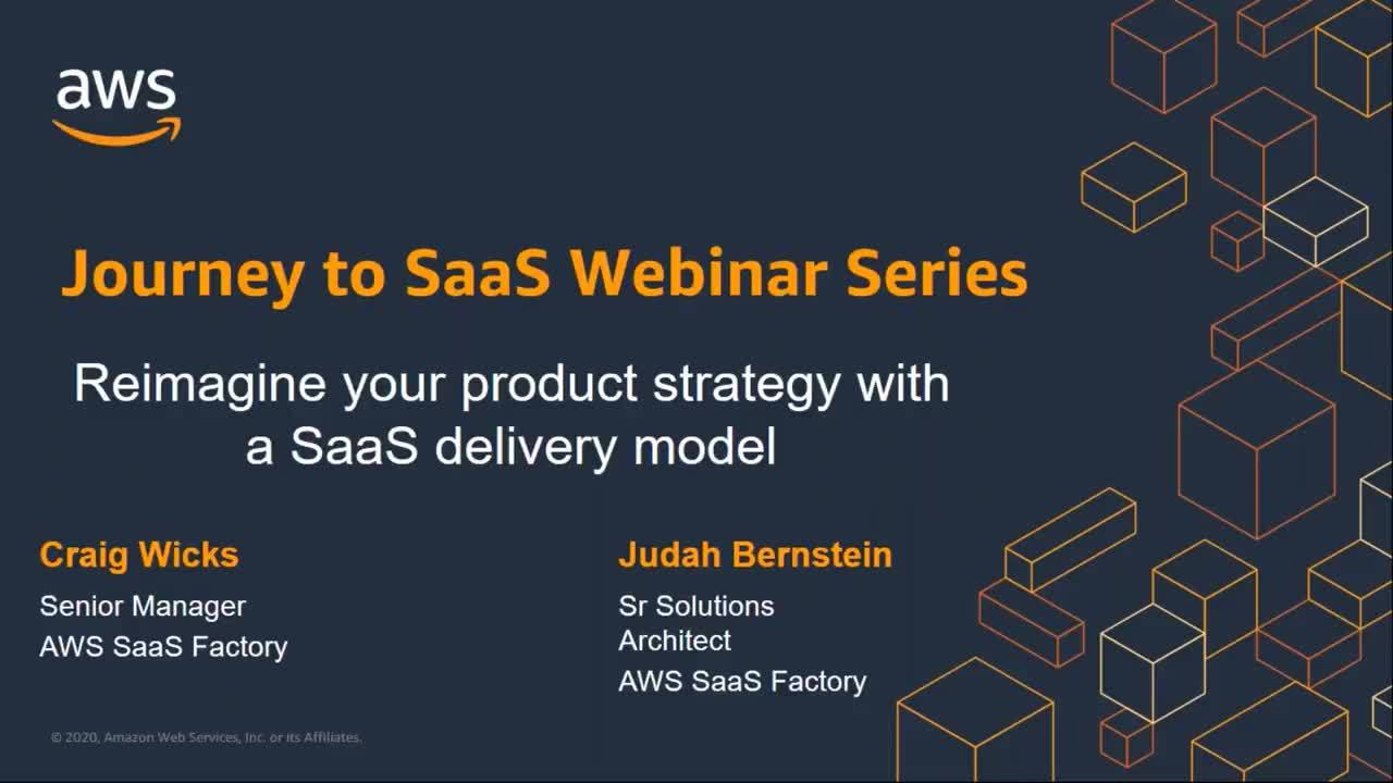 Reimagine Your Product Strategy with a SaaS Delivery Model Webinar