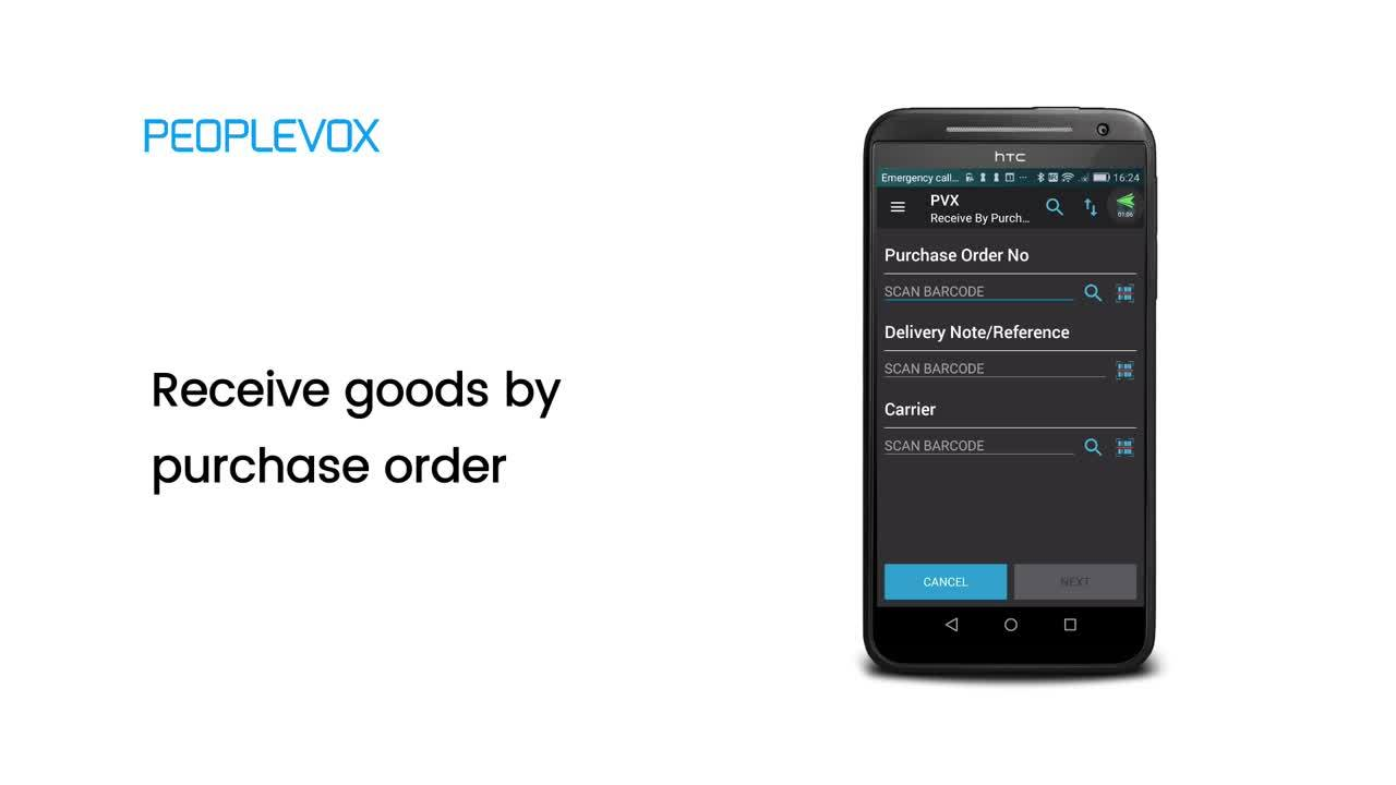 Getting goods-in right with Peoplevox
