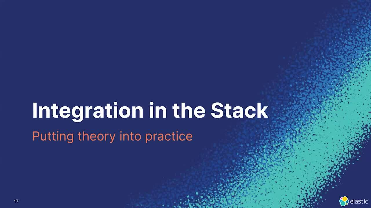 Video for Modern NLP in the Elastic Stack
