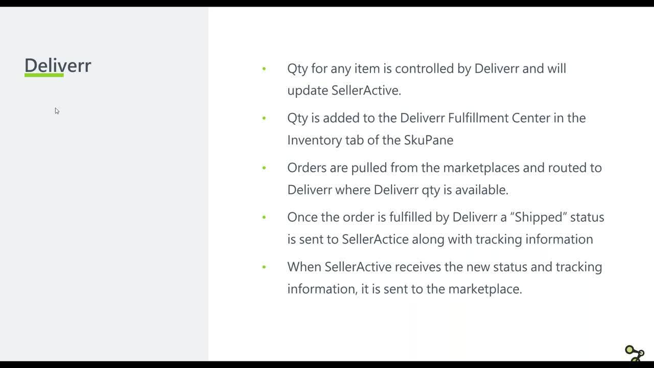 Deliverr and FBA Orders