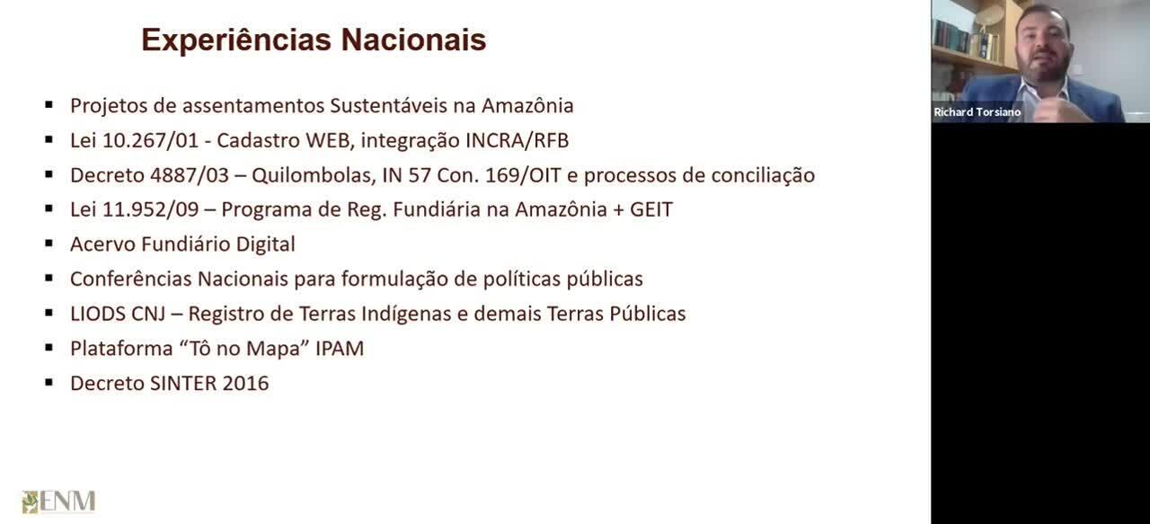 GOVERNANÇA DE TERRAS - Bloco 06-1