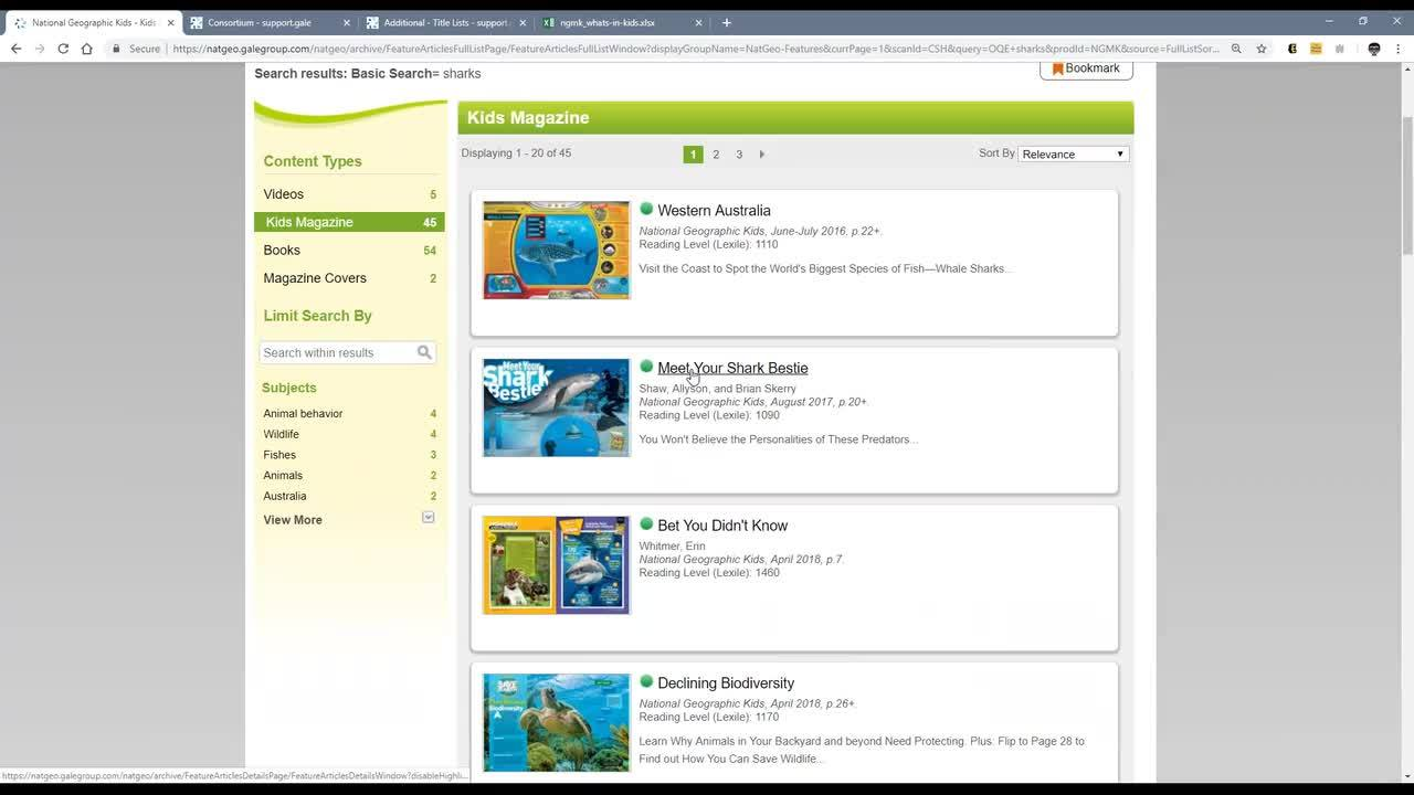 For Maine: Get to Know Elementary School Gale Resources from Your Digital Maine Library Thumbnail