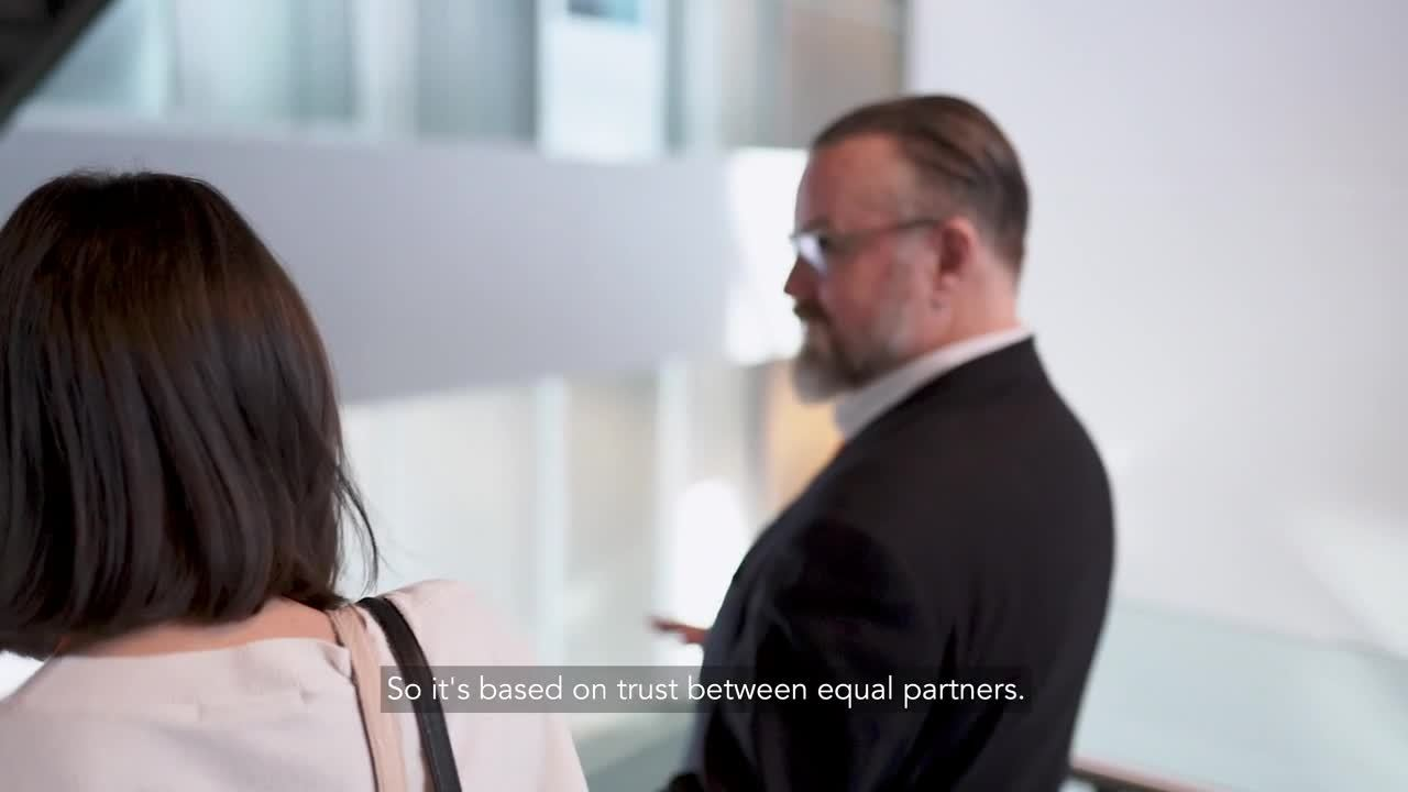 Partnership video with PwC